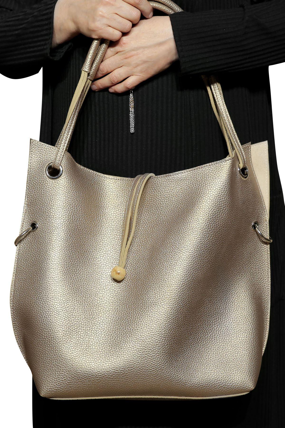 Kadın Gold Çanta
